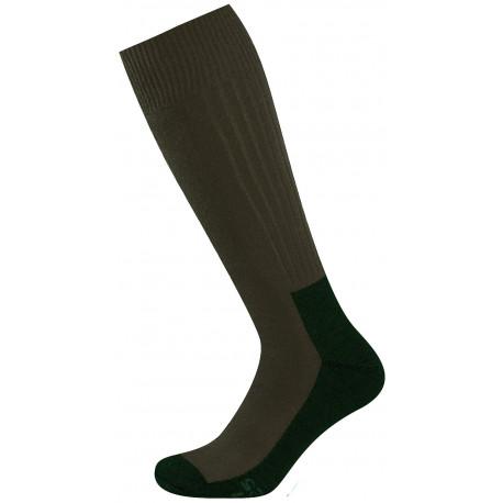 khaki - ANTIBAKTERIÁLNÍ EXTRÉMNÍ ZÁTĚŽ TERMO | Outdoor - Teplé vlněné termo ponožky santibakteriální úpravou. Ideální pro vysokohorskou turistiku a pobyt v přírodě v mrazu a nepřízni počasí. Ponožky jsou speciálně vyvinuté pro velkou fyzickou zátěž acelodenní nošení vtěžké vysoké obuvi, goretexových botách ivrybářských holinách.