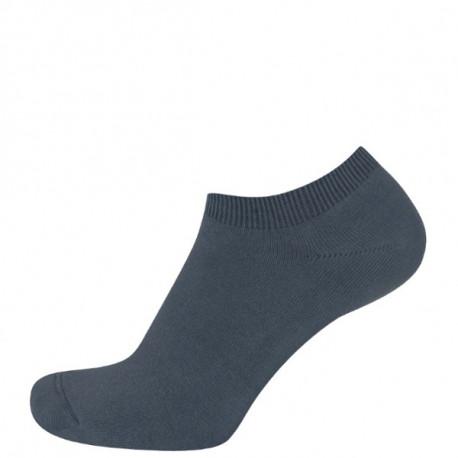 Tmavě šedá - DINA | Sport - Nízké sportovní hladké ponožky bez vzorku. Díky použitému materiálu - kvalitní bavlny s Lycrou ponožky výborně drží na nohou. Výborně se hodí do sportovních bot pro běh, tenis, fitness i golf. Na výběr je několik barev.