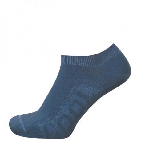 Džínová modrá - DANUTA COOL ANTIBAKTERIÁLNÍ | Sport - Antibakteriální kotníčkové ponožky s chladivou úpravou Cool efekt obsahují funkční úpravy, vyvinuté na bázinano částic stříbra a přírodních extraktů. Tyto funkční úpravyvytváří chladivý pocit a omezují pocení. Zároveň eliminují vznik bakterií a plísní. Díky svému propracovanému designu a kombinaci kvalitní bavlny s Lycrou ponožky drží na nohou a neshrnují se..