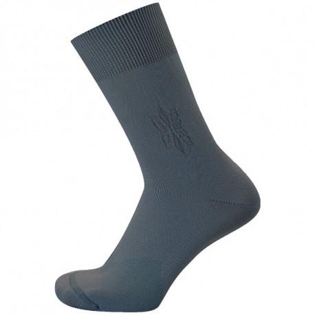 Tmavě šedá - MONET - VÝHODNÉ BALENÍ 5 PÁRŮ | Komfort - Výhodné balení 5 párů se slevou 10 %! Hladké ponožky s decentním vzorkem na kotníčku. Špička má jemný a plochý šev. Kombinace materiálů s polypropylenem pomáhá odvádět pot od pokožky do vnějších vrstev ponožky.Ideální letní ponožky pro všechny, kdo trpí potivostí nohou.