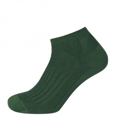 Světle zelená - COOL ANTIBAKTERIÁLNÍ NÍZKÉ | Outdoor - Kotníčkové chladivé ponožky s antibakteriální úpravou, ideální do nízkých outdoorových bot. Funkční úpravy na bázi rostlinných esencí a nano částic stříbra eliminují pocení a riziko vzniku kožních onemocnění. Anatomický zónový design. Odvod vlhkosti od pokožky.