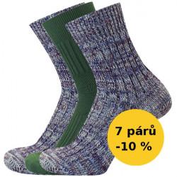 PRO CHALUPÁŘE - Výhodný balíček 7 párů
