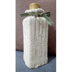 Pletená taštička - dárkový obal