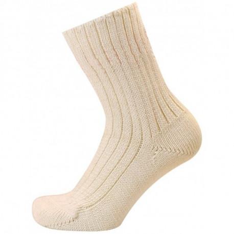 Světlá béžová - ZITA | Medic - 100% bavlněné zdravotní ponožky s velmi plochým švem a bez lemu. Vhodné pro alergiky a všechny, kdo vyhledávají výrobky bez jakýchkoliv příměsí nebo umělých vláken. Ponožky ocení i diabetici alidé s problémy oběhového systému.