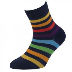 Dětské ponožky pruhované - 90% bavlna | Klasik