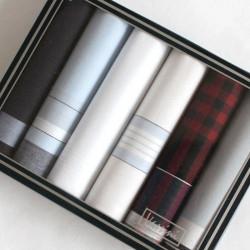 Výhodný set pánských kapesníků - 6 ks, světlá kombinace