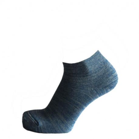 Kotníčkové ponožky melír modrý | Sport