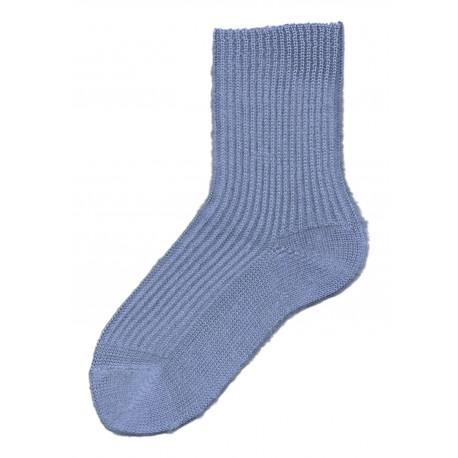 Středně modrá - LENA | Komfort - Jemné žebrové ponožky jsou velmi příjemné na nošení, ideální pro relaxaci, ktelevizi nebo na spaní. Ponožky nemají lem, nesvírají, díky česanému akrylu jsou velmi měkké a hřejivé. K dostání v několika barvách dle aktuálních skladových zásob.