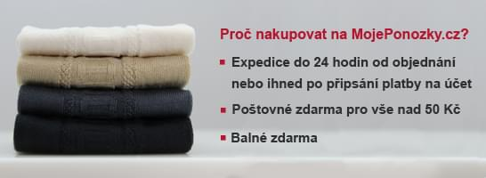 Ponožky v našem e-shopu s poštovným zdarma!